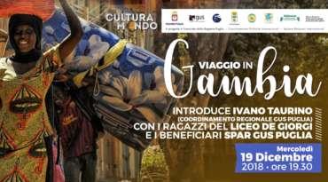 Cultura Mondo, mercoledì 19 dicembre al Crocevia di Lecce, Viaggio in Gambia