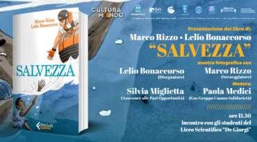 Cultura Mondo, sabato 1 dicembre al Crocevia di Lecce, Salvezza: la storia della nave Aquarius a fumetti
